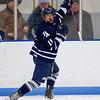 Michael Lata (Andover - 11) - 2012 Flood-Marr Round Robin - Milton Boys Varsity Hockey defeated Andover 4-3 on  December 14th, 2012, at Flood Rink in Dedham, Massachusetts.