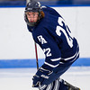 Seamus O'Neill (Andover - 22) - 2012 Flood-Marr Round Robin - Milton Boys Varsity Hockey defeated Andover 4-3 on  December 14th, 2012, at Flood Rink in Dedham, Massachusetts.