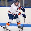 Alex Mann (Milton - 4) - 2012 Flood-Marr Round Robin - Milton Boys Varsity Hockey defeated Andover 4-3 on  December 14th, 2012, at Flood Rink in Dedham, Massachusetts.
