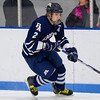 Connor Light (Andover - 2) - 2012 Flood-Marr Round Robin - Milton Boys Varsity Hockey defeated Andover 4-3 on  December 14th, 2012, at Flood Rink in Dedham, Massachusetts.