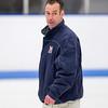 Paul Cannata (Milton - Head Coach) - 2012 Flood-Marr Round Robin - Milton Boys Varsity Hockey defeated Andover 4-3 on  December 14th, 2012, at Flood Rink in Dedham, Massachusetts.