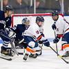 Anthony Sabitsky (Milton - 18),  Cole Morrissette (Milton - 11),  Ross Bendetson (Andover - 33),  Connor Light (Andover - 2) - 2012 Flood-Marr Round Robin - Milton Boys Varsity Hockey defeated Andover 4-3 on  December 14th, 2012, at Flood Rink in Dedham, Massachusetts.