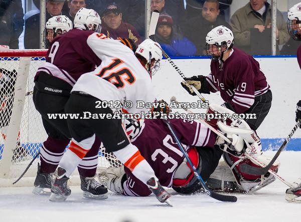 Will Toffey (Salisbury - 9),  JD Dudek (KU - 16),  Callum Booth (Salisbury - 30),  Will Toffey (Salisbury - 9) - 2012 Flood-Marr Round Robin - Kimball Union Boys Varsity Hockey defeated Salisbury 3-2 on  December 14th, 2012, at Flood Rink in Dedham, Massachusetts.