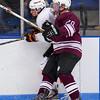 Jason Kalinowski (Salisbury - 20),  Matt Michaud (KU - 9) - 2012 Flood-Marr Round Robin - Kimball Union Boys Varsity Hockey defeated Salisbury 3-2 on  December 14th, 2012, at Flood Rink in Dedham, Massachusetts.