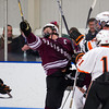 Ryan Segalla (Salisbury - 22), ku27\,  Casey Miller (KU - 11) - 2012 Flood-Marr Round Robin - Kimball Union Boys Varsity Hockey defeated Salisbury 3-2 on  December 14th, 2012, at Flood Rink in Dedham, Massachusetts.