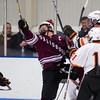 Ryan Segalla (Salisbury - 22), ku27\,  Casey Miller (KU - 11) - 2012 Flood-Marr Round Robin - Kimball Union Boys Varsity Hockey defeated Salisbury 3-2 on  December 14th, 2012, at Flood Rink in Dedham, Massachusetts.