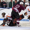 Ryan Lund (KU - 31),  Ryan Segalla (Salisbury - 22),  Alex Carle (KU - 18) - 2012 Flood-Marr Round Robin - Kimball Union Boys Varsity Hockey defeated Salisbury 3-2 on  December 14th, 2012, at Flood Rink in Dedham, Massachusetts.