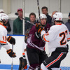 Nick Roberto (KU - 15),  Ryan Segalla (Salisbury - 22), \ku26\ - 2012 Flood-Marr Round Robin - Kimball Union Boys Varsity Hockey defeated Salisbury 3-2 on  December 14th, 2012, at Flood Rink in Dedham, Massachusetts.