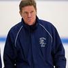 Mike Traggio (Hotchkiss - Head Coach) - 2012 Flood-Marr Round Robin - Westminster Boys Varsity Hockey defeated Hotchkiss 3-1 on  December 14th, 2012, at Flood Rink in Dedham, Massachusetts.
