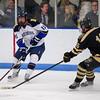Nick Branchina (Hotchkiss - 11),  David Hallisey (Westminster - 16) - 2012 Flood-Marr Round Robin - Westminster Boys Varsity Hockey defeated Hotchkiss 3-1 on  December 14th, 2012, at Flood Rink in Dedham, Massachusetts.
