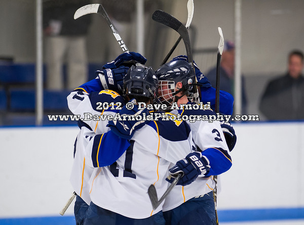 Ryan Begoon (Hotchkiss - 3),  Nick Branchina (Hotchkiss - 11) - 2012 Flood-Marr Round Robin - Westminster Boys Varsity Hockey defeated Hotchkiss 3-1 on  December 14th, 2012, at Flood Rink in Dedham, Massachusetts.