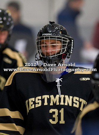 Stephen Gasior (Westminster - 31) - 2012 Flood-Marr Round Robin - Westminster Boys Varsity Hockey defeated Hotchkiss 3-1 on  December 14th, 2012, at Flood Rink in Dedham, Massachusetts.