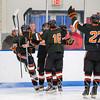 Nick Roberto (KU - 15),  JD Dudek (KU - 16),  Doyle Somerby (KU - 27) - Kimball Union Boys Varsity Hockey defeated Westminster 4-1 to win the 2012 Flood-Marr Tournament on December 16, 2012, at Noble & Greenough in Dedham, Massachusetts.