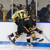 Casey Miller (KU - 11),  Frankie Sullivan (Westminster - 17) - Kimball Union Boys Varsity Hockey defeated Westminster 4-1 to win the 2012 Flood-Marr Tournament on December 16, 2012, at Noble & Greenough in Dedham, Massachusetts.