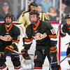 JD Dudek (KU - 16),  Nick Roberto (KU - 15) - Kimball Union Boys Varsity Hockey defeated Westminster 4-1 to win the 2012 Flood-Marr Tournament on December 16, 2012, at Noble & Greenough in Dedham, Massachusetts.