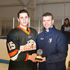 Nick Roberto (KU - 15) - Kimball Union Boys Varsity Hockey defeated Westminster 4-1 to win the 2012 Flood-Marr Tournament on December 16, 2012, at Noble & Greenough in Dedham, Massachusetts.