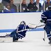 Connor Maher (Nobles - 33),  Tyler Wood (Nobles - 4),  Trevor Yates (Deerfield - 15) - 2012 Flood-Marr Round Robin - Noble & Greenough Boys Varsity Hockey defeated Deerfield Academy 3-2 on  December 14th, 2012, at Flood Rink in Dedham, Massachusetts.