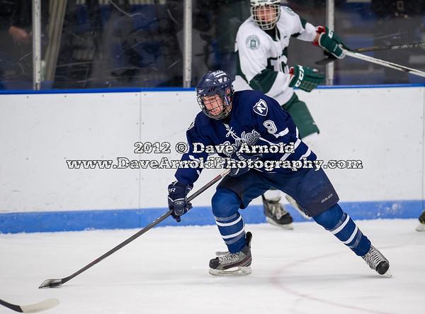 Cody Todesco (Nobles - 9) - 2012 Flood-Marr Round Robin - Noble & Greenough Boys Varsity Hockey defeated Deerfield Academy 3-2 on  December 14th, 2012, at Flood Rink in Dedham, Massachusetts.