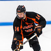 Flood-Marr - Day 2  - Deerfield Boys Varsity Hockey tied Kimball Union 3-3 on Saturday December 21, 2013 at Noble & Greenough, in Dedham,  Massachusetts.