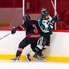 Boys Varsity Hockey: St. Sebastian's defeated Brooks 2-0 on December 16, 2015, at St. Sebastian's in Needham, Massachusetts.