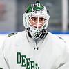 Boys Varsity Hockey: Flood-Marr - Nobles defeated Deerfield 4-1 on December 14, 2018 at Noble 7 Greenough in Dedham, Massachusetts.