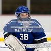 Girls Varsity Hockey: Berwick Academy defeated Hebron 4-3 on February 22, 2018, at the Dover Ice Arena in Dover, New Hampshire.