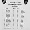 Girls Varsity Hockey: Worcester Academy defeated Southfield 6-3 on December 6, 2017 at Dexter-Southfield in Brookline, Massachusetts.