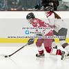 Girls Varsity Hockey: Middlesex and Governor's Academy tied 2-2 on January 13, 2018, at Governor's Academy in Byfield, Massachusetts.