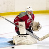 Boys Varsity Hockey: Exeter Invitational - Exeter defeated Gunnery 4-2 on December 2, 2018 at Phillips Exeter in Exeter, NH.