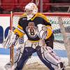 Joe Young (Jr. Bruins - 1) - EJHL vs Prep Exhibition - The Jr. Bruins defeated Kimball Union 3-0 on January 6, 2013, at Mathews Arena in Boston, Massachusetts.
