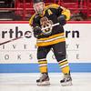 Matt Manzella (Jr. Bruins - 5) - EJHL vs Prep Exhibition - The Jr. Bruins defeated Kimball Union 3-0 on January 6, 2013, at Mathews Arena in Boston, Massachusetts.