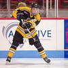 Joe De Pietto (Jr. Bruins - 18) - EJHL vs Prep Exhibition - The Jr. Bruins defeated Kimball Union 3-0 on January 6, 2013, at Mathews Arena in Boston, Massachusetts.