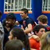 Milton Boys Varsity Basketball defeated Nobles 54-53 on February 22, 2013, at Milton Academy in Milton, Massachusetts.