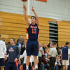 Milton Boys Varsity Basketball defeated Nobles 54-53 on February 22, 2013, at Milton Academy in Milton, Massachusetts.