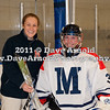 Head Coach Deanna McDevitt, Natalie Chaves (MA - 31) - Nobles defeated Milton 5-1 in the final regular season game on February 26, 2011, at Flood Rink in Dedham, MA.