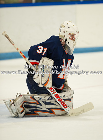 Sean Dougherty (MA - 31) - Milton Academy defeated the Kent School 2-1 to win the the NEPSIHA Championship on March 3, 2011, at the Ice Center in Salem, New Hampshire.