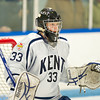 Kevin Dluhy (KS - 33) - Milton Academy defeated the Kent School 2-1 to win the the NEPSIHA Championship on March 3, 2011, at the Ice Center in Salem, New Hampshire.