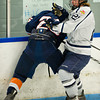 Dan Merenich (MA - 25) , Noel Acciari (KS - 21) - Milton Academy defeated the Kent School 2-1 to win the the NEPSIHA Championship on March 3, 2011, at the Ice Center in Salem, New Hampshire.