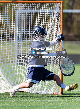 Boys Varsity Lacrosse: Roxbury Latin defeated Nobles 8-1 on April 20, 2016, at Noble & Greenough in Dedham, Massachusetts