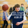 Nobles defeated Groton 46-39 on February 9, 2011, at the Morrison Athletic Center in Dedham, MA.