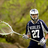 Nobles Boys Varsity Lacrosse defeated Roxbury Latin 5-4, on April 18th, 2012, at Noble and Greenough in Dedham, Massachusetts.