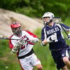 Nobles Boys Varsity Lacrosse defeated Rivers 6-5 on May 22, 2013, at Noble & Greenough in Dedham, Massachusetts.