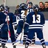 Nobles Girls Varsity Hockey defeated Tabor 1-0, in overtime, on December 8, 2014, at Noble & Greenough in Dedham Massachusetts.