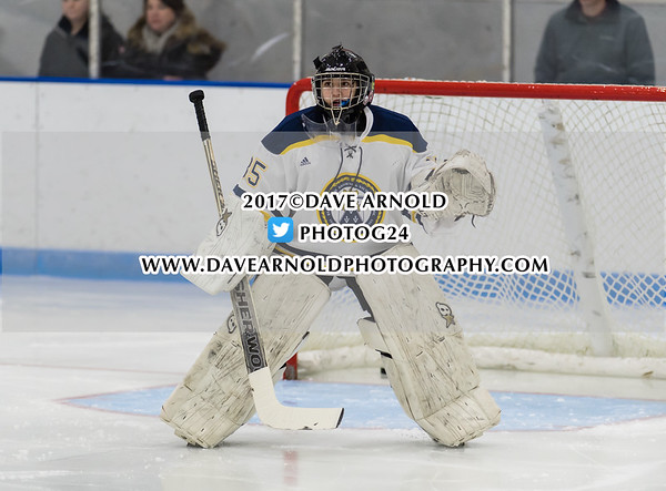 Girls Varsity Hockey: Harrington Invitational  Final - Nobles defeated BB&N 5-1 on December 17, 2017, at Noble & Greenough in Dedham, Massachusetts.