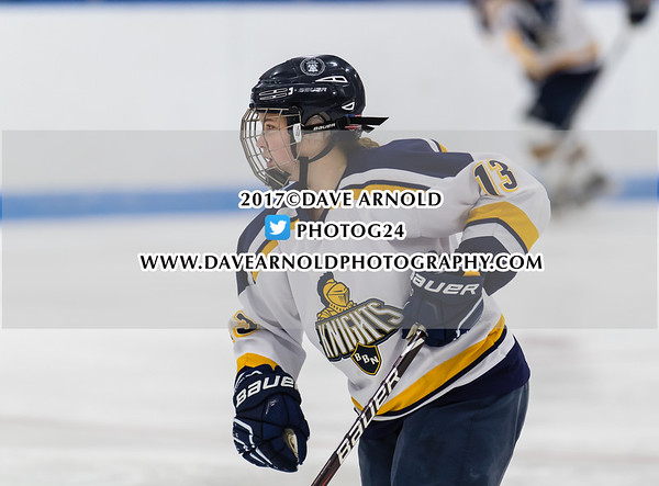 Girls Varsity Hockey: Harrington Invitational  Final - Nobles defeated BB&N 5-1 on December 17, 2017, at Noble & Greenough in Dedham, Massachusetts.