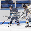 Girls Varsity Hockey: Nobles defeated BB&N 2-1, in the NEPSAC D1 quarterfinals, on February 2, 2018, at Noble 7 Greenough in Dedham, Massachusetts.