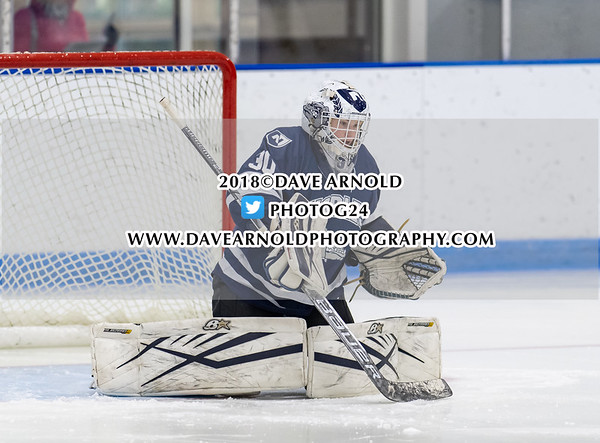 Girls Varsity Hockey: Harrington Invitational - Nobles defeated Middlesex 6-1 on December 15, 2018 at Noble & Greenough in Dedham, Massachusetts.