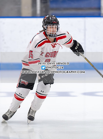Girls Varsity Hockey: Nobles defeated St. Georges 5-0 on January 30, 2019 at Noble & Greenough in Dedham, Massachusetts.
