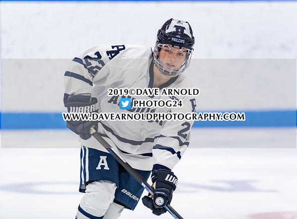 NEPSAC Girls D1 Semi-final: Nobles defeated Andover 2-0 on March 2, 2019 at Noble & Greenough in Dedham, Massachusetts.