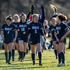 Girls Varsity Soccer: NEPSAC Class A Quarter Final - Hotchkiss defeated Nobles 2-1 on November 13, 2019 at Noble & Greenough in Dedham, Massachusetts.